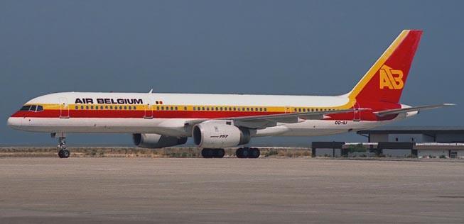 Air-Belgium-Boeing-757