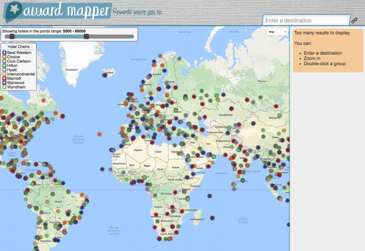 Awardmapper - overview