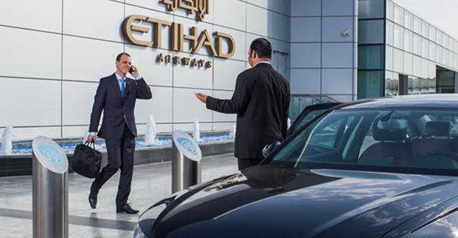 Etihad Chauffeur service