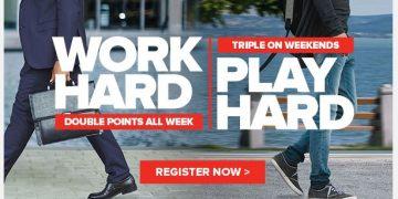 Club Carlson Work Hard, Play Hard Promotie