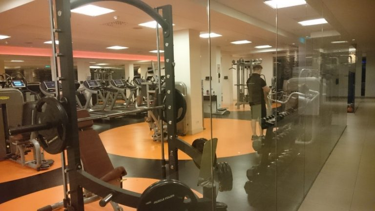 Promenade Health Club Gym - Erg ruim!