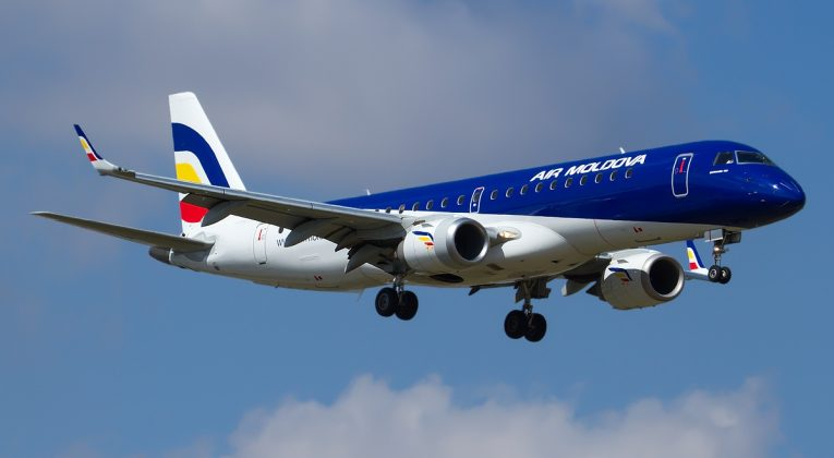 Air Moldova Embraer_190