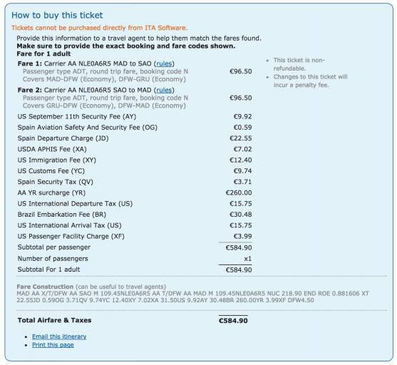 goedkope american airlines premium economy