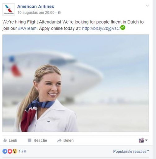 American Airlines werft