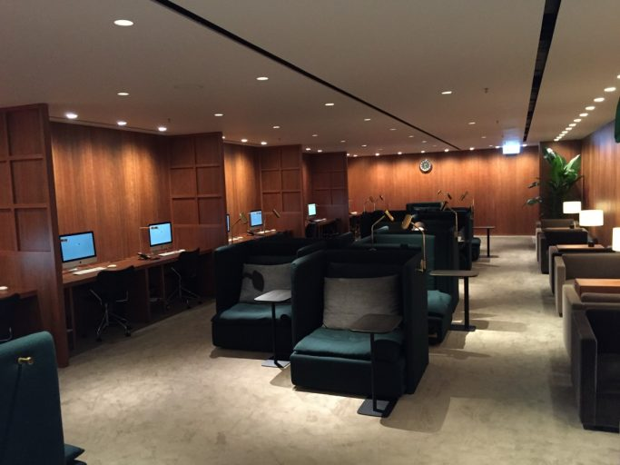 Cathay Pacific The Pier Business Class Lounge