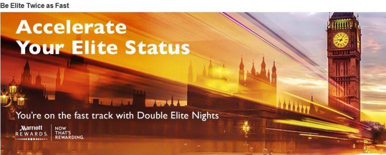 Marriott Accelerate your Elite status_2016