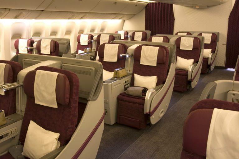 Qatar Airways Business Class 777