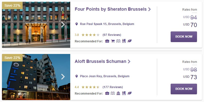 SPG Hot Escapes week 32 - Benelux