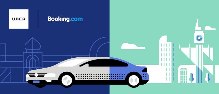 gratis Uber ritten bij Booking.com