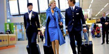 KLM cabin crew