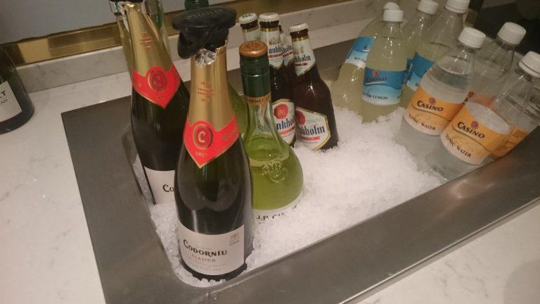 OSL Lounge Premium gedeelte drankselectie