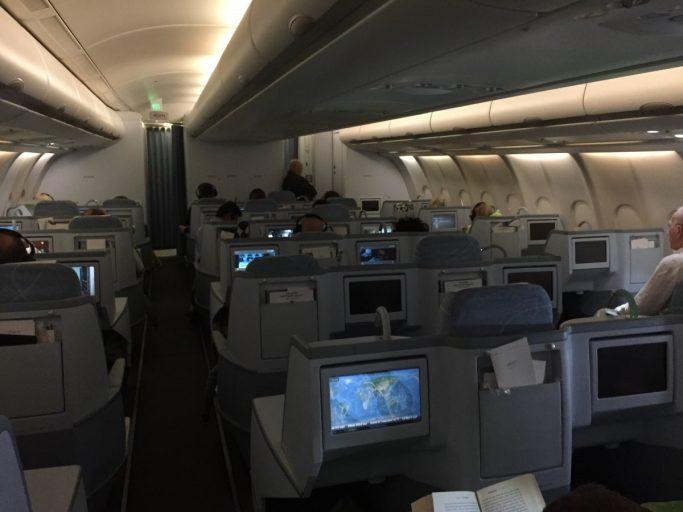 Finnair Business Class Cabine