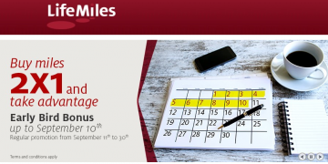 LifeMiles 130pc bonus