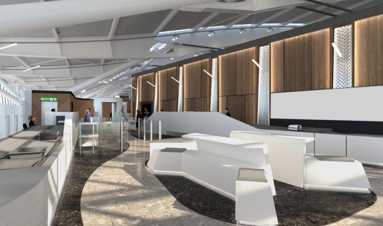 British Airways First Wing