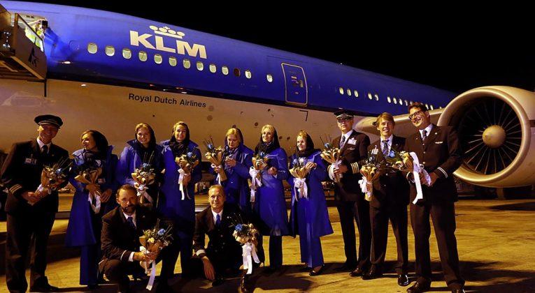 KLM terug in Teheran - Iran