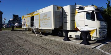Etihad Airways Mobile Exhibition