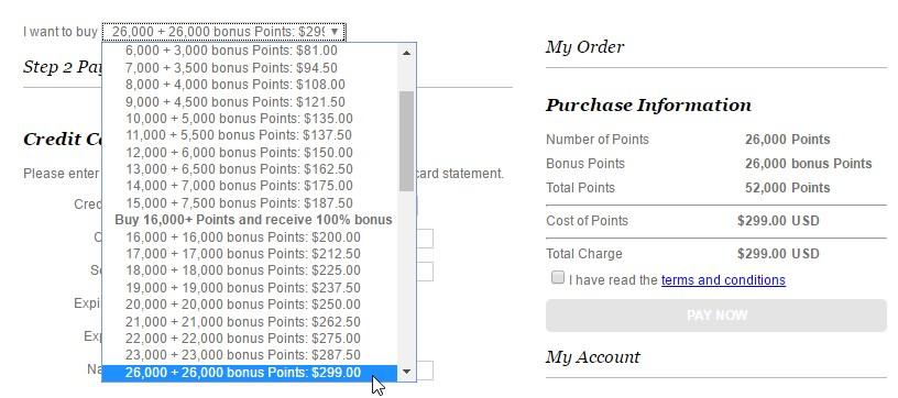 IHG promo: 100% bonus bij punten kopen