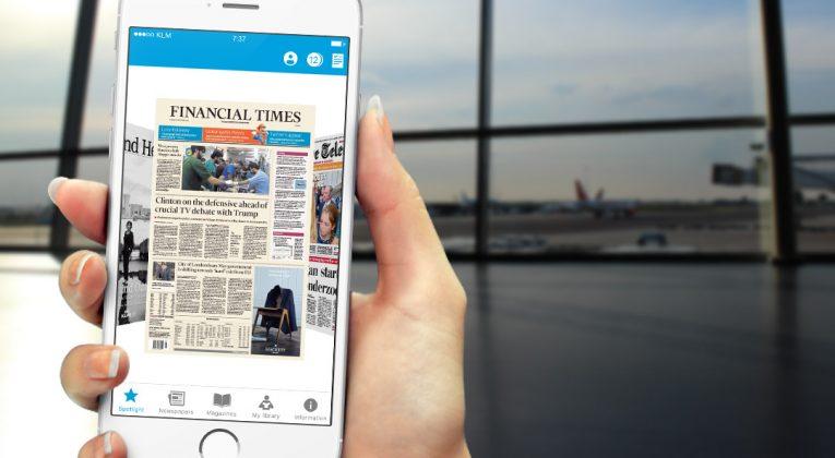 KLM Media App