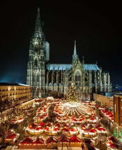 Kerstmarken Duitsland