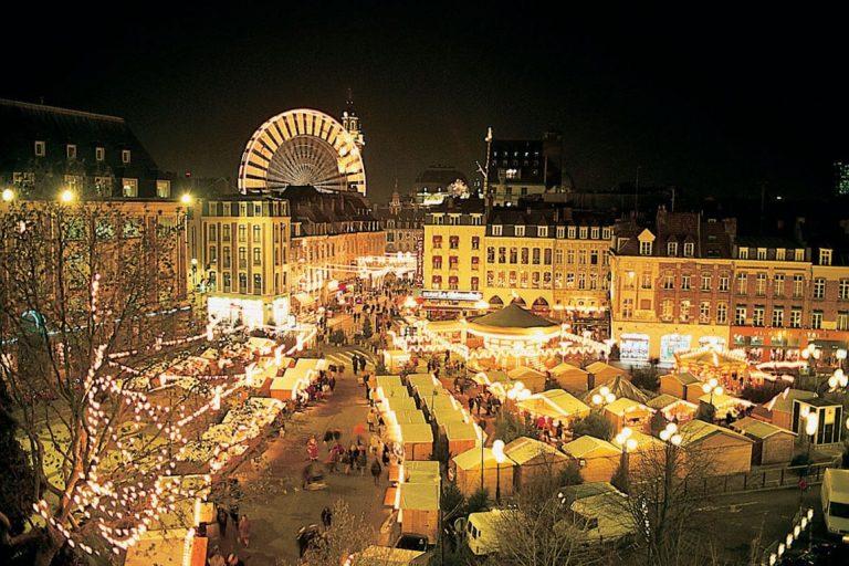kerstmarkten Lille