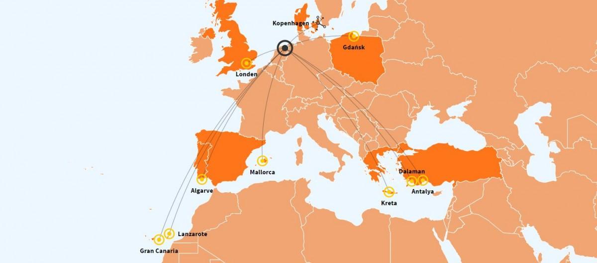 Extra Vluchten Kos en Kreta Vanaf Groningen
