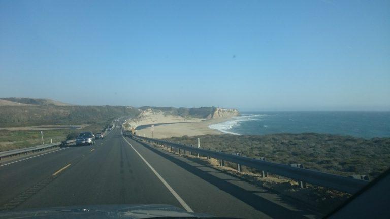 De mooie rit van San Francisco naar Monterey