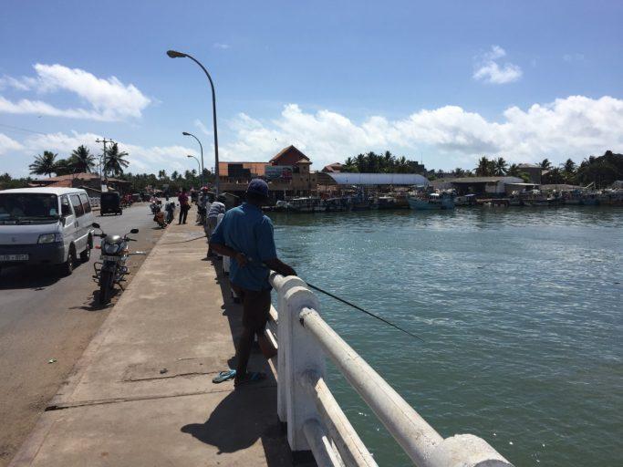 Vissers in Negombo - Sri Lanka