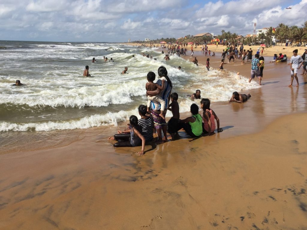 Beach fun at Negombo Beach - Sri Lanka