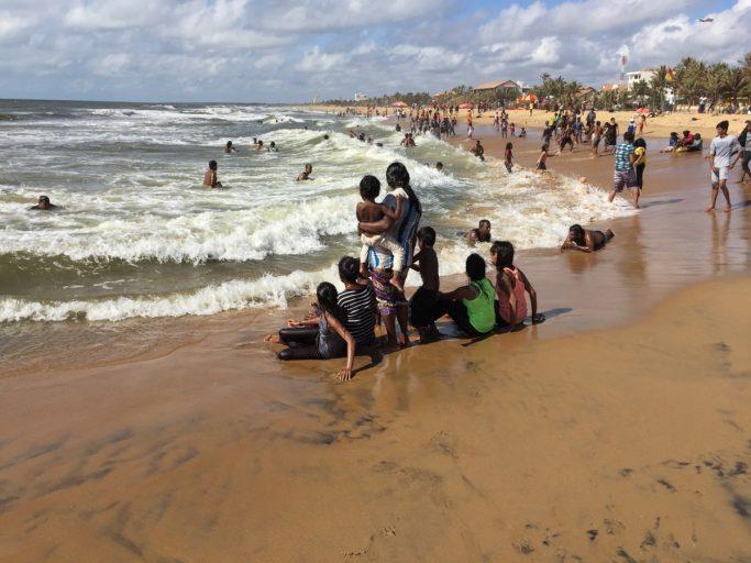 Beach fun at Negombo Beach - Sri Lanka