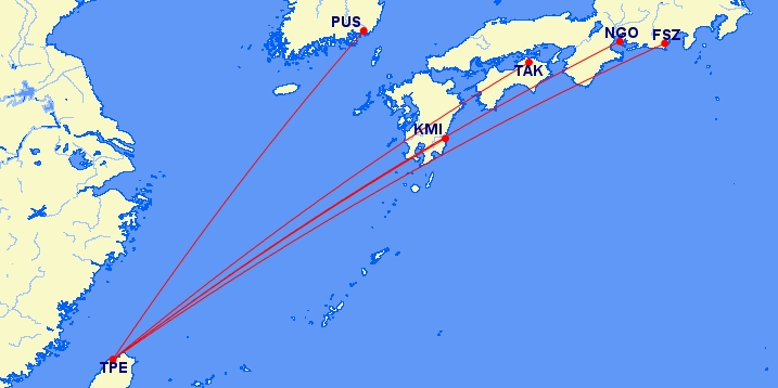 Nieuwe KLM codeshares in Azië naar Japan en Zuid-Korea