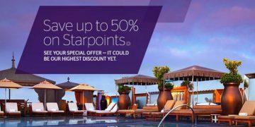 SPG Starpoints 50 procent bonus