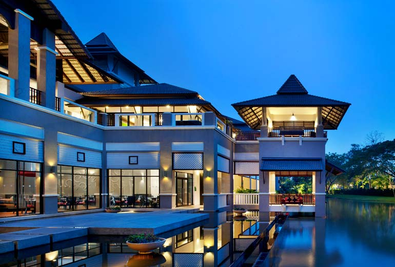 SPG Starpoints catagoy 2: Le Meridien Chang Rai, Thailand