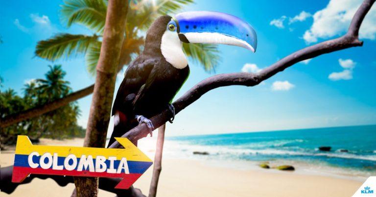 KLM naar Cartagena
