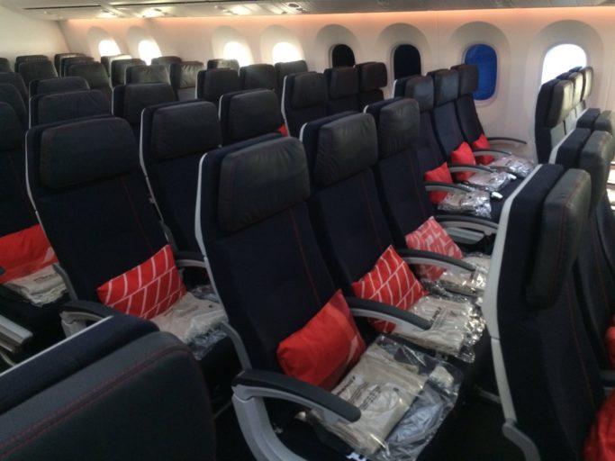 Air France 787 Dreamliner Economy