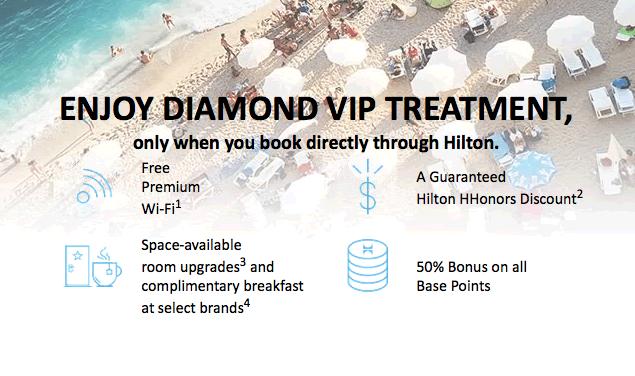 hilton diamond challenge