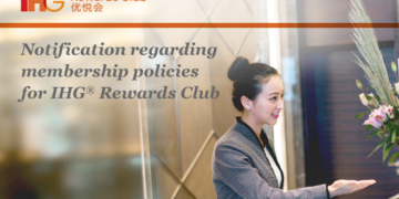 IHG Rewards Club Lidmaatschap Update