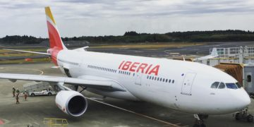 Iberia business Tokio naar Madrid