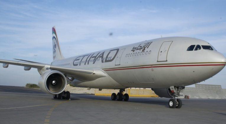 Etihad vlucht naar Düsseldorf