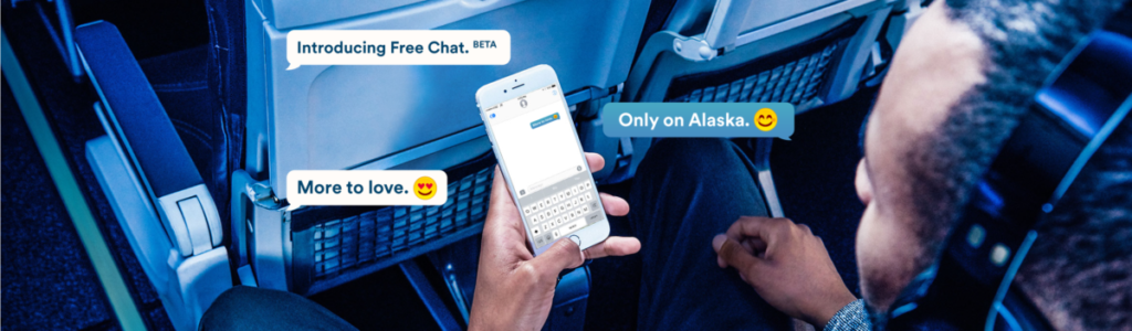 alaska-airlines-gratis-gebruik-whatsapp-imessage-en-facebook-messenger