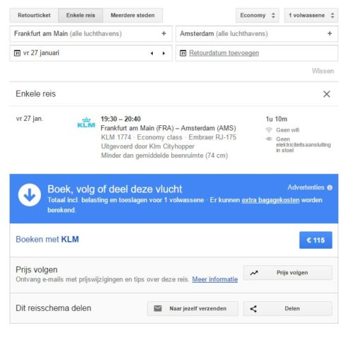 Enkeltje bij KLM duur? Boek een retour met flexibiliteit!