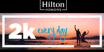 Hilton Honors 2K Everyday