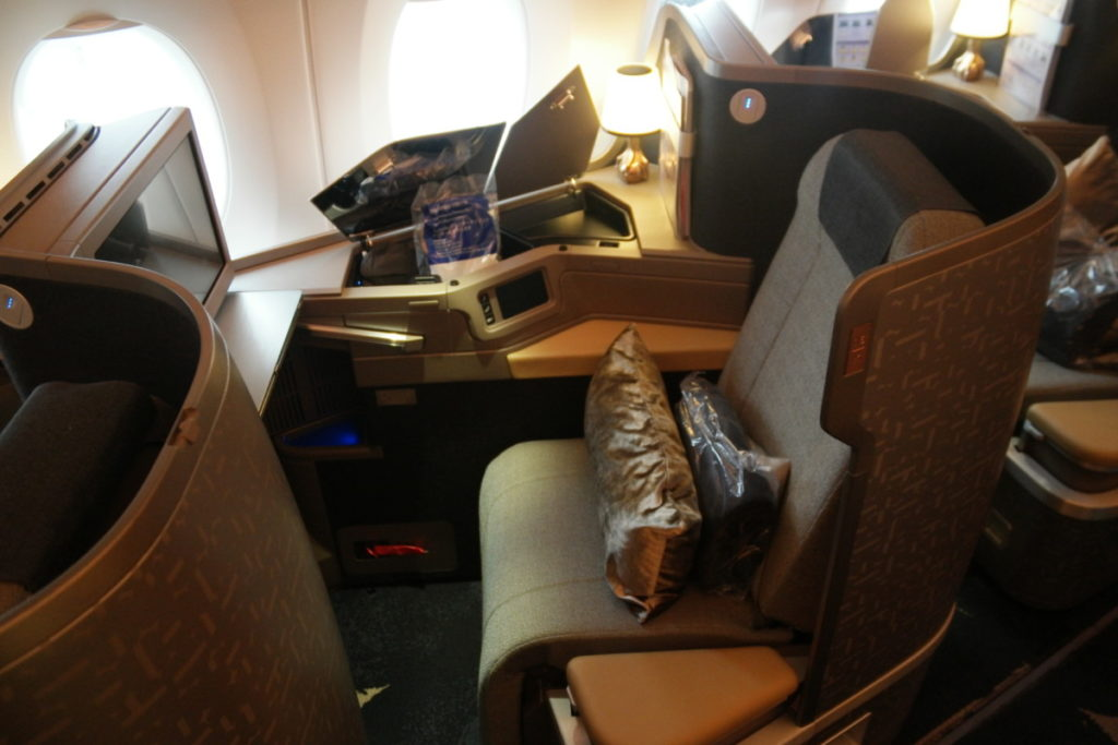 Insidelook china airlines a350 xwb insideflyer nl for Migliori cabine business class 2017