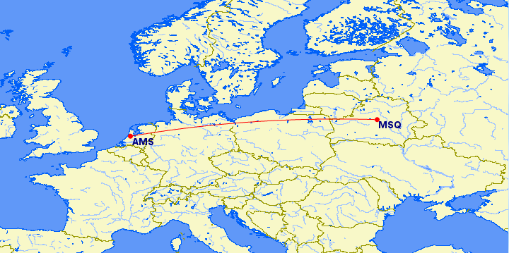 Amsterdam - Minsk