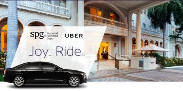Starwood en Uber samenwerking
