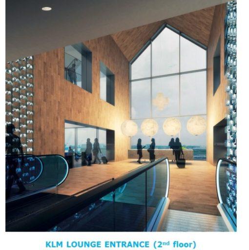 verbouwing KLM Crown Lounge