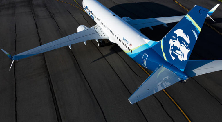 Alaska Airlines gratis inflight messaging