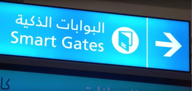 paspoortcontrole in Dubai en Abu Dhabi