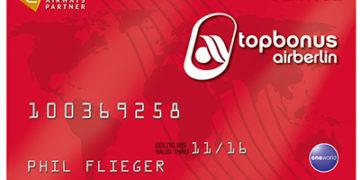 Topbonus Servicecard