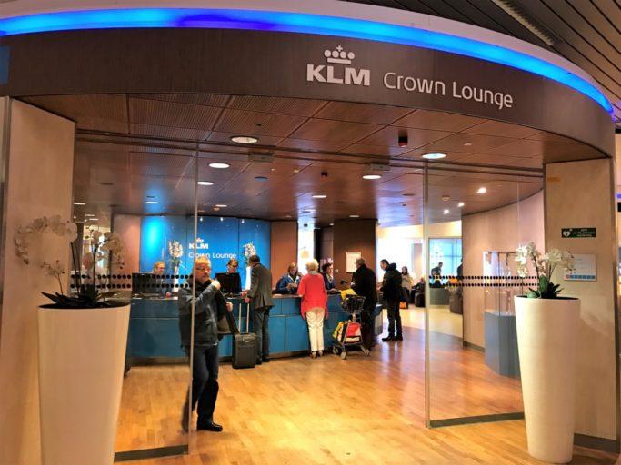 KLM crowne lounge
