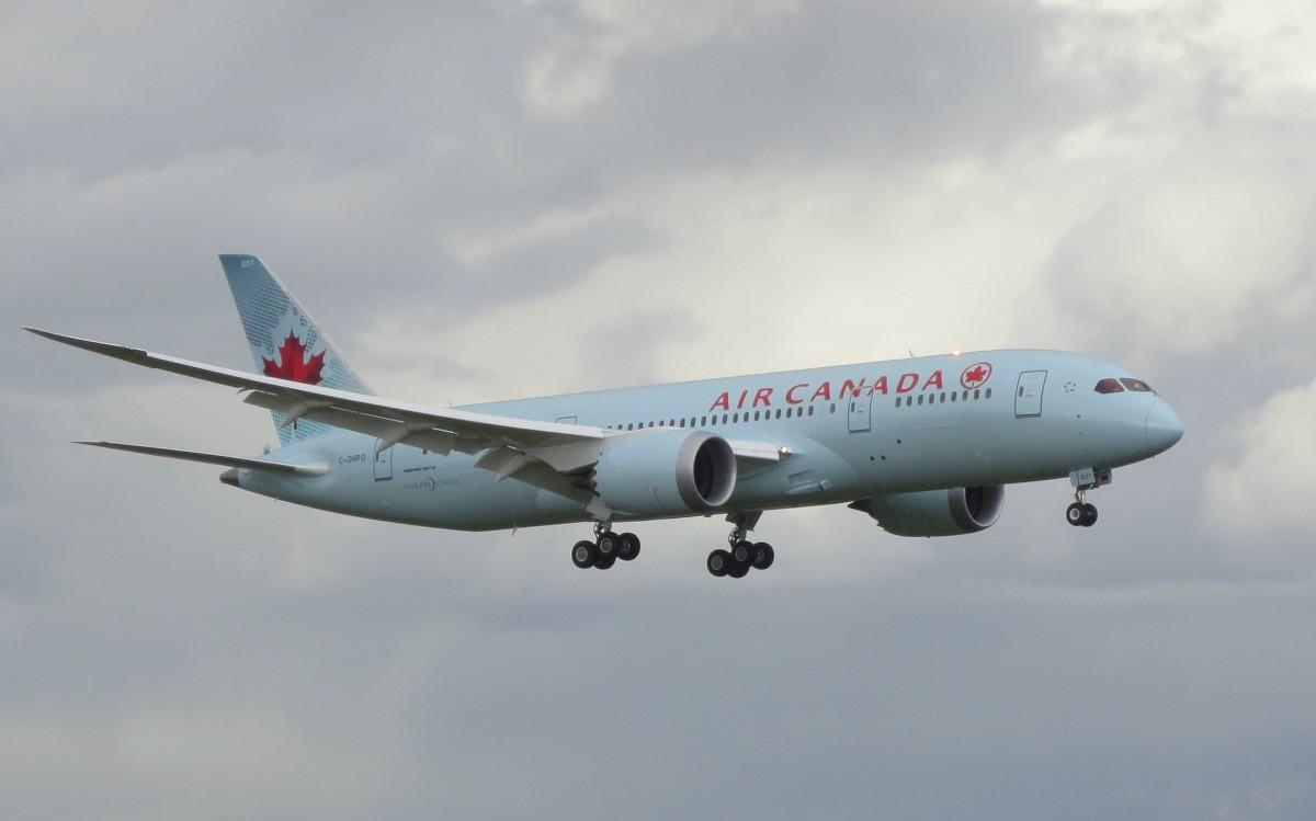 Air Canada Tijdelijk Met 787 Dreamliner Naar Brussel